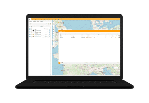 maintenance with gps tracking system